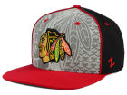 Chicago Blackhawks Zephyr NHL Reflector Snapback Hat Adjustable Hats
