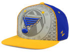 St. Louis Blues Zephyr NHL Reflector Snapback Hat Adjustable Hats