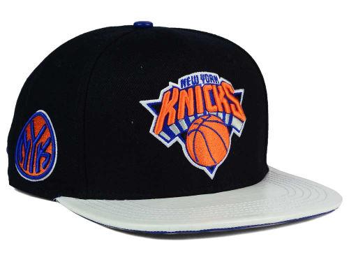 New York Knicks NBA Pro Standard Team Leather Strapback Hat Hats