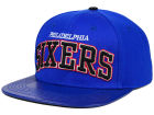 Philadelphia 76ers Pro Standard NBA Real Leather Strapback Hat Adjustable Hats