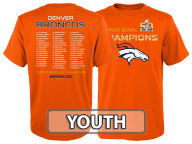 Outerstuff NFL Youth Super Bowl 50 Champ Roster T-Shirt T-Shirts