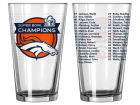 Denver Broncos Boelter Brands Event Satin Etch Roster Pint Kitchen & Bar