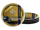 Denver Broncos Event Neoprene Coaster 4pk Kitchen & Bar