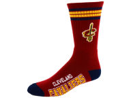 For Bare Feet 4 Stripe Deuce Crew 504 Sock Apparel & Accessories