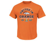 VF Licensed Sports Group NFL Men's Super Bowl 50 Champ United in Orange T-Shirt T-Shirts