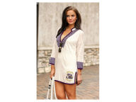 NCAA Women's Embroidered Swim Tunic Shirt Swimwear