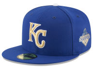 New Era MLB 2015 World Series Commemorative Gold AC 59FIFTY Cap Fitted Hats