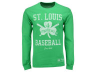 MLB Men's Shamrock Baseball Long Sleeve T-Shirt T-Shirts
