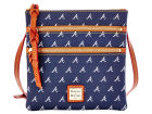 Atlanta Braves Dooney & Bourke Dooney & Bourke Triple Zip Crossbody Bag Luggage, Backpacks & Bags