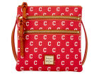 Cleveland Indians Dooney & Bourke Dooney & Bourke Triple Zip Crossbody Bag Luggage, Backpacks & Bags