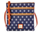 Minnesota Twins Dooney & Bourke Dooney & Bourke Triple Zip Crossbody Bag Luggage, Backpacks & Bags