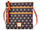 Oakland Athletics Dooney & Bourke Dooney & Bourke Triple Zip Crossbody Bag Luggage, Backpacks & Bags