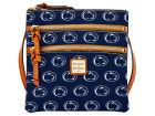 Penn State Nittany Lions Dooney & Bourke Dooney & Bourke Triple Zip Crossbody Bag Luggage, Backpacks & Bags