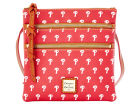 Philadelphia Phillies Dooney & Bourke Dooney & Bourke Triple Zip Crossbody Bag Luggage, Backpacks & Bags
