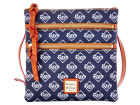 Tampa Bay Rays Dooney & Bourke Dooney & Bourke Triple Zip Crossbody Bag Luggage, Backpacks & Bags