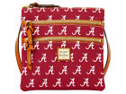 Alabama Crimson Tide Dooney & Bourke Dooney & Bourke Triple Zip Crossbody Bag Luggage, Backpacks & Bags