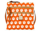 Clemson Tigers Dooney & Bourke Dooney & Bourke Triple Zip Crossbody Bag Luggage, Backpacks & Bags