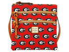 Georgia Bulldogs Dooney & Bourke Dooney & Bourke Triple Zip Crossbody Bag Luggage, Backpacks & Bags