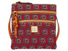 South Carolina Gamecocks Dooney & Bourke Dooney & Bourke Triple Zip Crossbody Bag Luggage, Backpacks & Bags