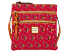 Louisville Cardinals Dooney & Bourke Dooney & Bourke Triple Zip Crossbody Bag Luggage, Backpacks & Bags