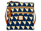 West Virginia Mountaineers Dooney & Bourke Dooney & Bourke Triple Zip Crossbody Bag Luggage, Backpacks & Bags