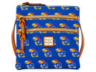 Kansas Jayhawks Dooney & Bourke Dooney & Bourke Triple Zip Crossbody Bag Luggage, Backpacks & Bags