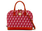 Alabama Crimson Tide Dooney & Bourke Dooney & Bourke Zip Zip Satchel Luggage, Backpacks & Bags