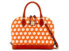 Clemson Tigers Dooney & Bourke Dooney & Bourke Zip Zip Satchel Luggage, Backpacks & Bags