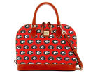 Georgia Bulldogs Dooney & Bourke Dooney & Bourke Zip Zip Satchel Luggage, Backpacks & Bags