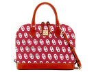 Oklahoma Sooners Dooney & Bourke Dooney & Bourke Zip Zip Satchel Luggage, Backpacks & Bags