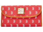 Boston Red Sox Dooney & Bourke Large Dooney & Bourke Continental Clutch Luggage, Backpacks & Bags