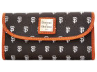 San Francisco Giants Dooney & Bourke Large Dooney & Bourke Continental Clutch Luggage, Backpacks & Bags