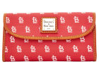 St. Louis Cardinals Dooney & Bourke Large Dooney & Bourke Continental Clutch Luggage, Backpacks & Bags