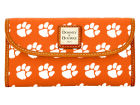 Clemson Tigers Dooney & Bourke Large Dooney & Bourke Continental Clutch Luggage, Backpacks & Bags