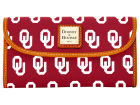Oklahoma Sooners Dooney & Bourke Large Dooney & Bourke Continental Clutch Luggage, Backpacks & Bags