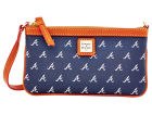 Atlanta Braves Dooney & Bourke Large Dooney & Bourke Wristlet Luggage, Backpacks & Bags