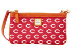 Cincinnati Reds Dooney & Bourke Large Dooney & Bourke Wristlet Luggage, Backpacks & Bags