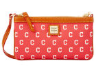 Cleveland Indians Dooney & Bourke Large Dooney & Bourke Wristlet Luggage, Backpacks & Bags