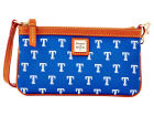 Texas Rangers Dooney & Bourke Large Dooney & Bourke Wristlet Luggage, Backpacks & Bags