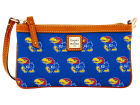 Kansas Jayhawks Dooney & Bourke Large Dooney & Bourke Wristlet Luggage, Backpacks & Bags