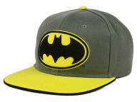 DC Comics Embroidered Logo Heather Snapback Hat Adjustable Hats