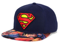 DC Comics Superman Charge Snapback Hat Adjustable Hats