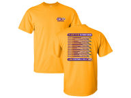 J America NCAA 2016 Men's Football Schedule T-Shirt T-Shirts