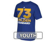 adidas NBA Youth Golden Standard 73 Wins T-Shirt T-Shirts