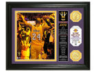 Los Angeles Lakers Kobe Bryant Highland Mint 13x16