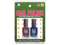 2-pack Nail Polish w/ Decals Apparel & Accessories