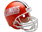 Illinois Fighting Illini Riddell NCAA Deluxe Replica Helmet Collectibles