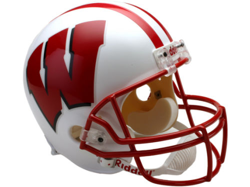 Wisconsin Badgers Riddell NCAA Deluxe Replica Helmet